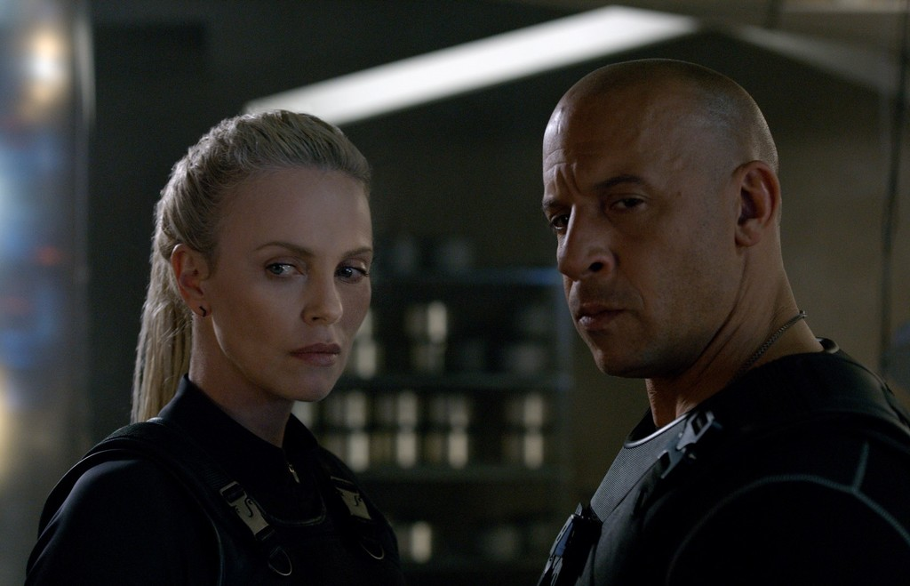 Charlize Theron Vin Diesel