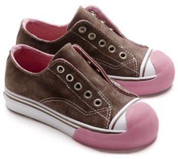 Zapatillas sin cordones para los peques