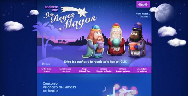 Conecta con los Reyes Magos