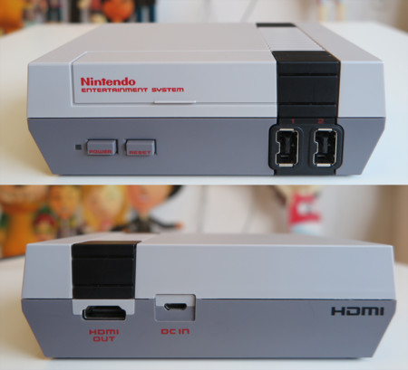 Nintendo Nes Mini Frontal Y Trasero
