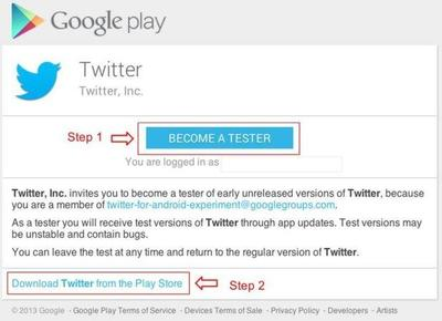 ¡Twitter busca beta testers!