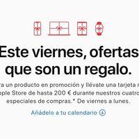 Apple lanza su Black Friday de 2019: hasta 200€ en vales regalo por la compra de sus productos