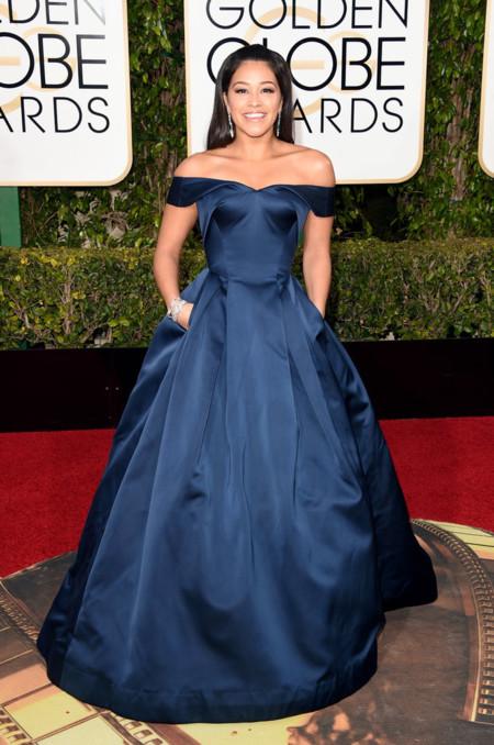 Gina Rodriguez Dress 2016 Golden Globes