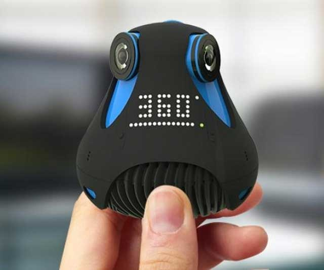 Giroptic ya tiene lista su cámara de realidad virtual con la que plantarán cara a GoPro