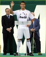 Cristiano Ronaldo ya es merengue