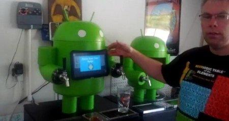KegDroid: un androide con corazón Arduino y cuerpo Android que te sirve cerveza