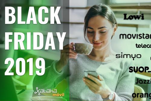 Las mejores ofertas de tarifas y móviles con operadores por el Black Friday 2019: Movistar, Vodafone, Orange, Jazztel, Lowi y más