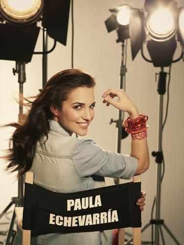 Paula Echevarría en la colección de Blanco Primavera-Verano 2012: luces, cámara, ¡acción!