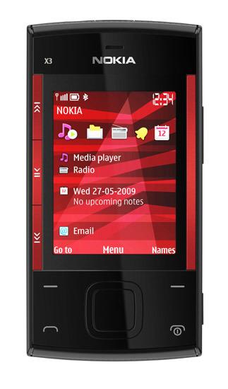 Nokia X3 complementa la gama Xseries
