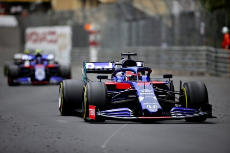 Kvyat Albon Monaco Formula 1 2019