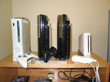 Foto de la nueva generación de consolas