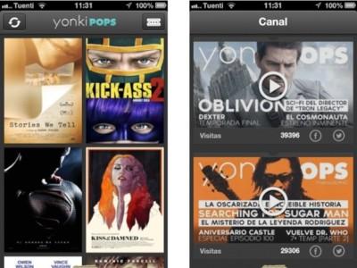 YonkiPOPS, un 'todo en uno' para los amantes del cine y del iPhone