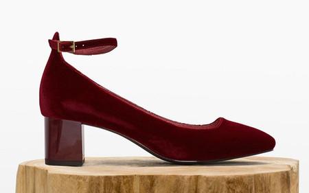 Aquazzura Alix Zapatos Terciopelo Clon Cortefiel 2