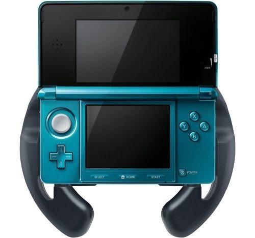 Volante para la Nintendo 3DS. Probablemente uno de los accesorios más inútiles
