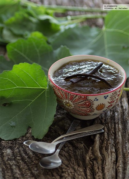 Mermelada de higos con vainilla y un toque de jengibre: receta para un desayuno delicioso