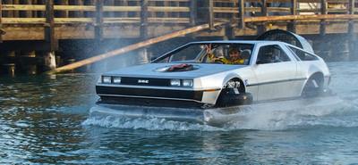 Bricopasión™: Móntate un DeLorean hovercraft y anfibio, y grábalo en cinco vídeos