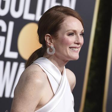 La gran decepción de los Globos de Oro 2019 tienen nombre propio: Julianne Moore y su vestido blanco
