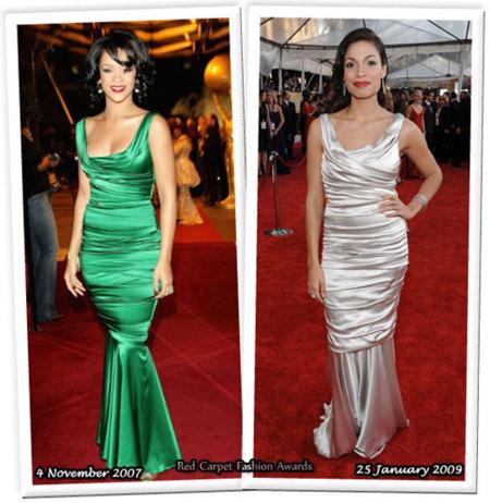 Vestido de Dolce & Gabbana: ¿Rihanna o Rosario?