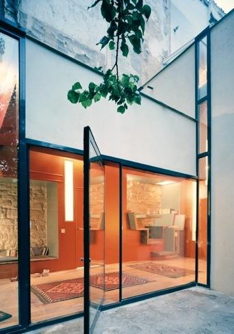 Grandes soluciones en un pequeño apartamento de 35 metros cuadrados en París