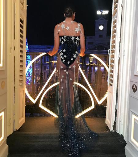 Pues a Cristina Pedroche le encantaba su vestido para las campanadas