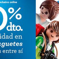 Segunda unidad al 50% en Toys 'r us en cientos de juguetes Playmobil, Megabloks y marcas propias