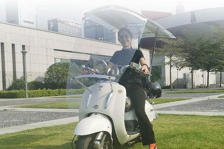 Techo Solar Scooter 1
