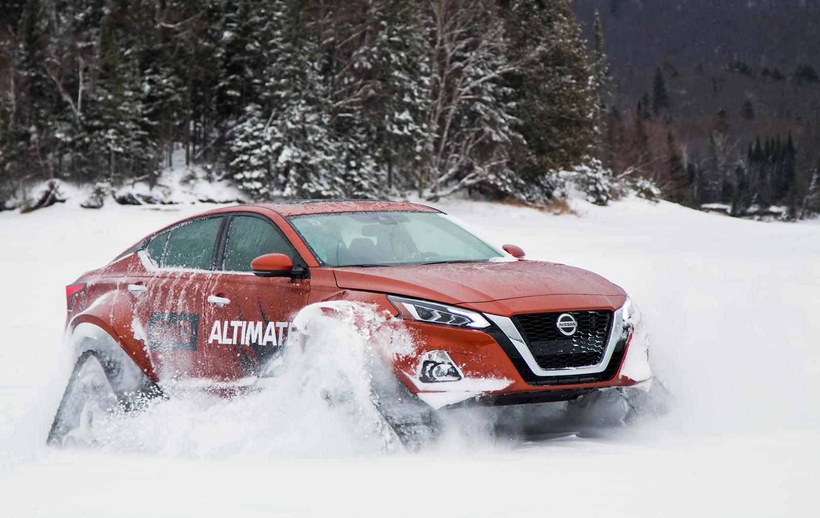 Foto de Nissan Altima-te AWD Concept (7/19)