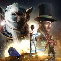 Goat Simulator lanzará su parodia de Mass Effect (y las obras de ci-fi) en consolas esta misma semana
