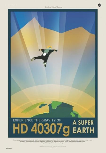 Retro Travel Posters By Nasa 2