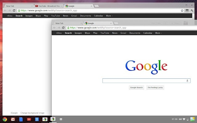 chrome os google