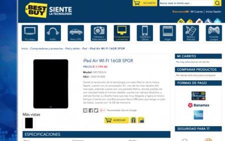Ya a la venta el iPad Air en México (Actualizado)