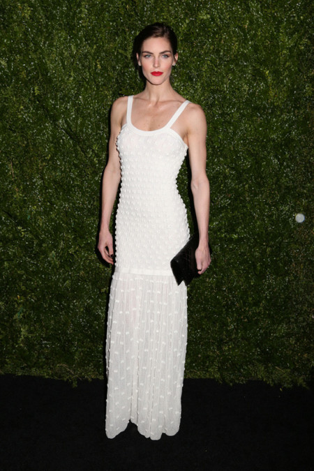 Hilary rhoda Chanel Tribeca 2014