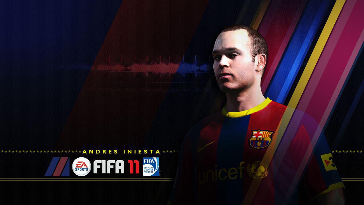 FIFA 11 - Iniesta
