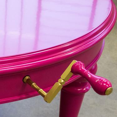 Cuando el diseño manda, la madera se deja llevar: Baldo Tavoli, mesas artesanales exclusivas