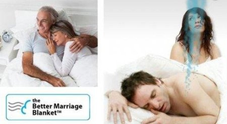 Better marriage blanket, la sábana que contiene los olores