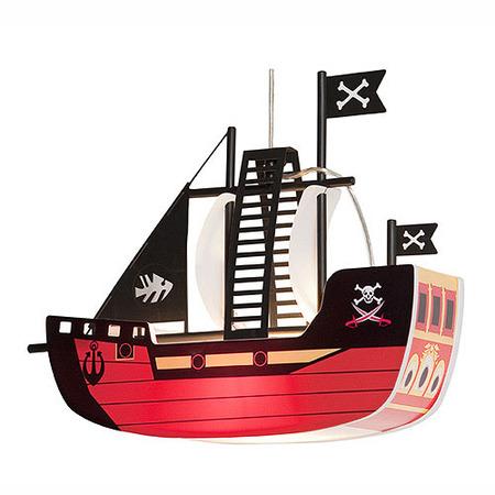 Lámpara barco pirata
