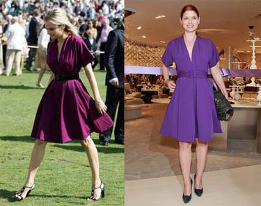 Vestido de Jean Paul-Gaultier: ¿Diane o Debra?