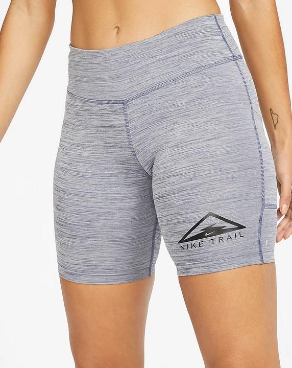 Pantalón corto de trail running de 18 cm - Mujer Nike Fast