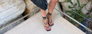 Las sandalias con tiras anudadas al tobillo son el must have del verano, con permiso de las mules, y queremos estos siete modelos