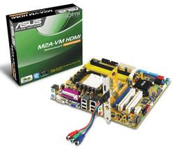 Asus M2A-VM, con salida HDMI y soporte HDCP