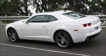 Nueva imagen del Chevrolet Camaro