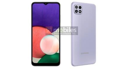 Los Samsung Galaxy A22, al descubierto: la gama económica de Samsung presume de batería y conectividad