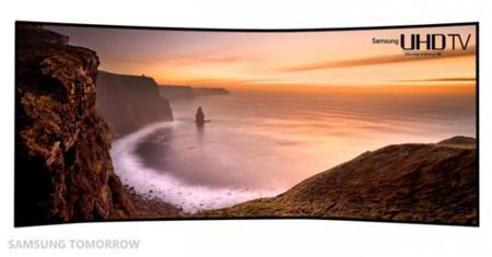 Samsung también tendrá su televisor curvado UHD de 105 pulgadas