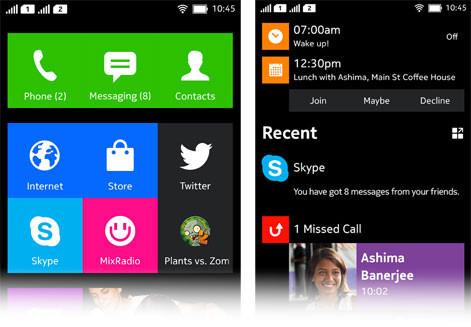 Nuevas imágenes de la interfaz de Nokia Normandy