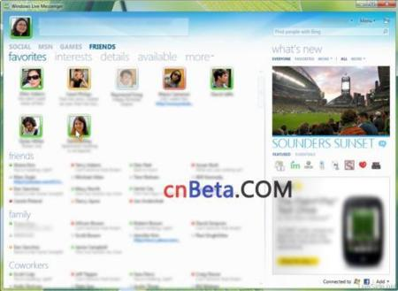 Windows Live Messenger 2010 (Wave 4) quiere integrarse con todas nuestras redes sociales