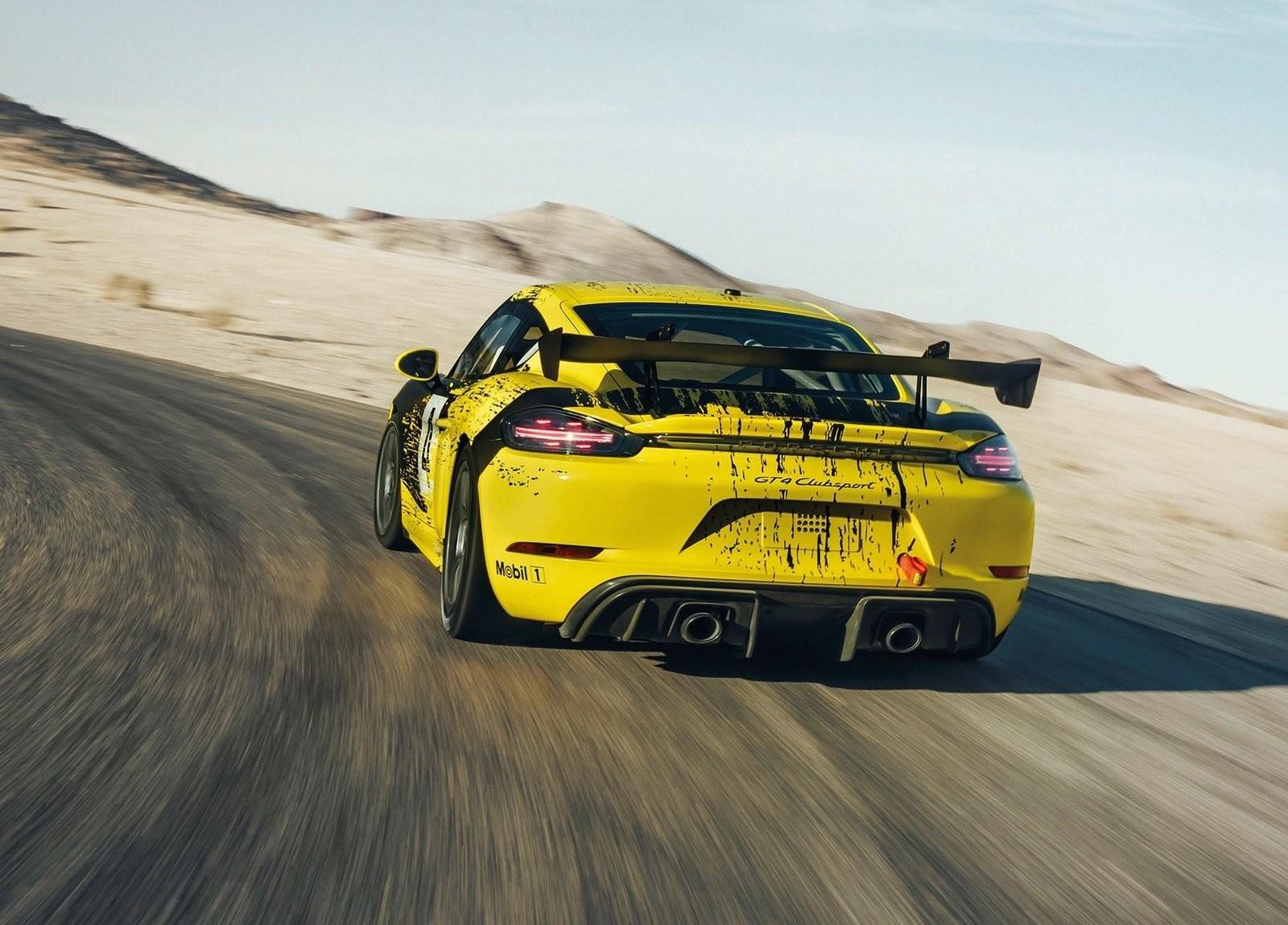 Porsche 718 Cayman GT4 Competition