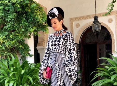 Nieves Álvarez tiene el look de invitada de invierno más original de la temporada y encima en blanco y negro