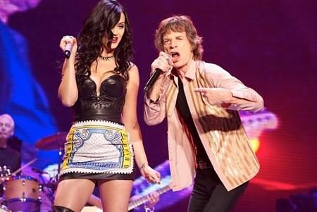 Los Rolling Stones cogen carrerilla popera y cantan con Katy Perry