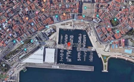 Vista Aerea De La Zona Donde Estan La Casa De Ortega Y El Club Nautico Google