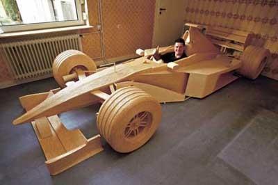 Cerilla a cerilla puedes construirte un F1